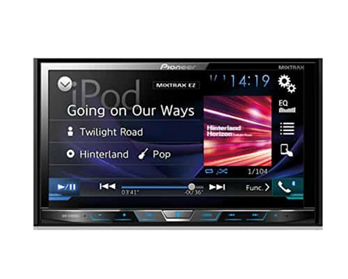 Pioneer AVH-X4800BS 7″ Motorized DVD Receiver