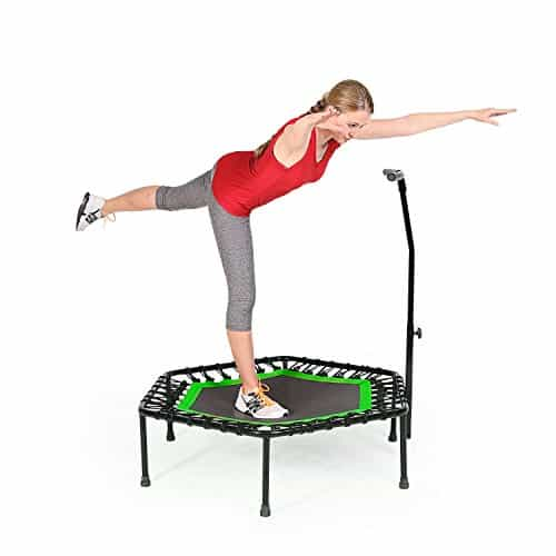 SportPlus Fitness Trampoline with Bar