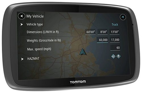 TomTom Trucker 600 GPS Device