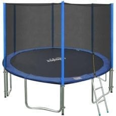Zupapa 15 14 12 FT TUV Approved Trampoline with Enclosure Net