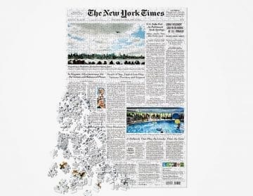Front Page New York Times Puzzle