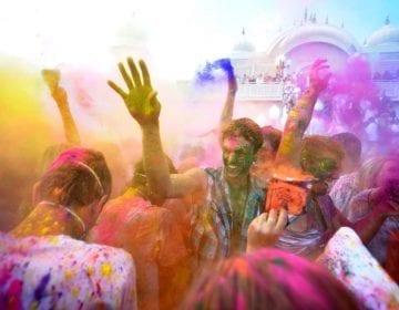Holi Festival Colors Powder