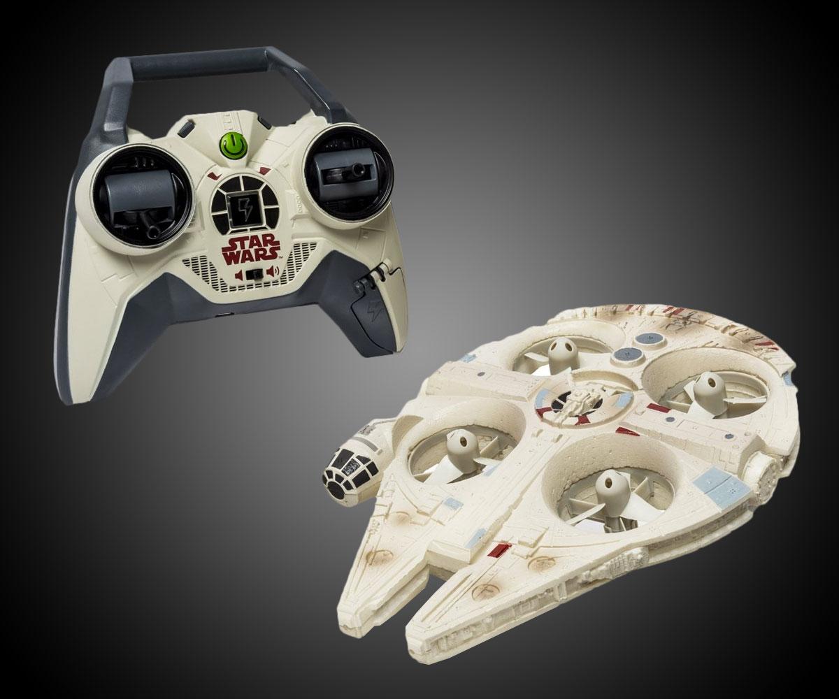 Remote Control Millennium Falcon Quad