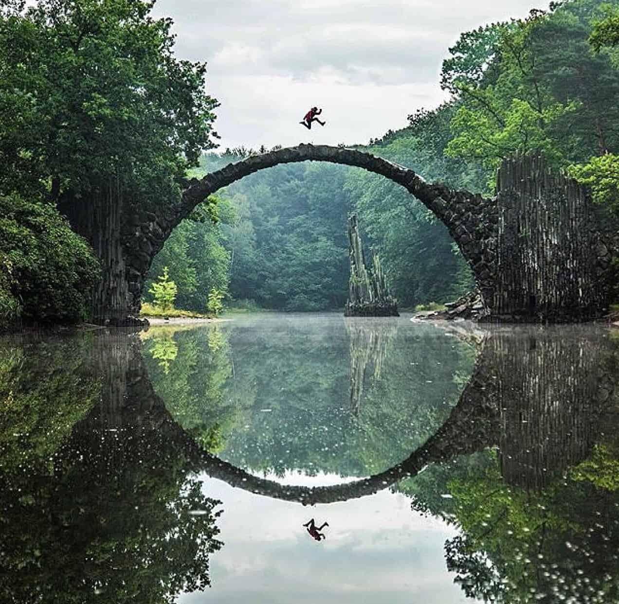 Rakotzbrücke Devil's Bridge