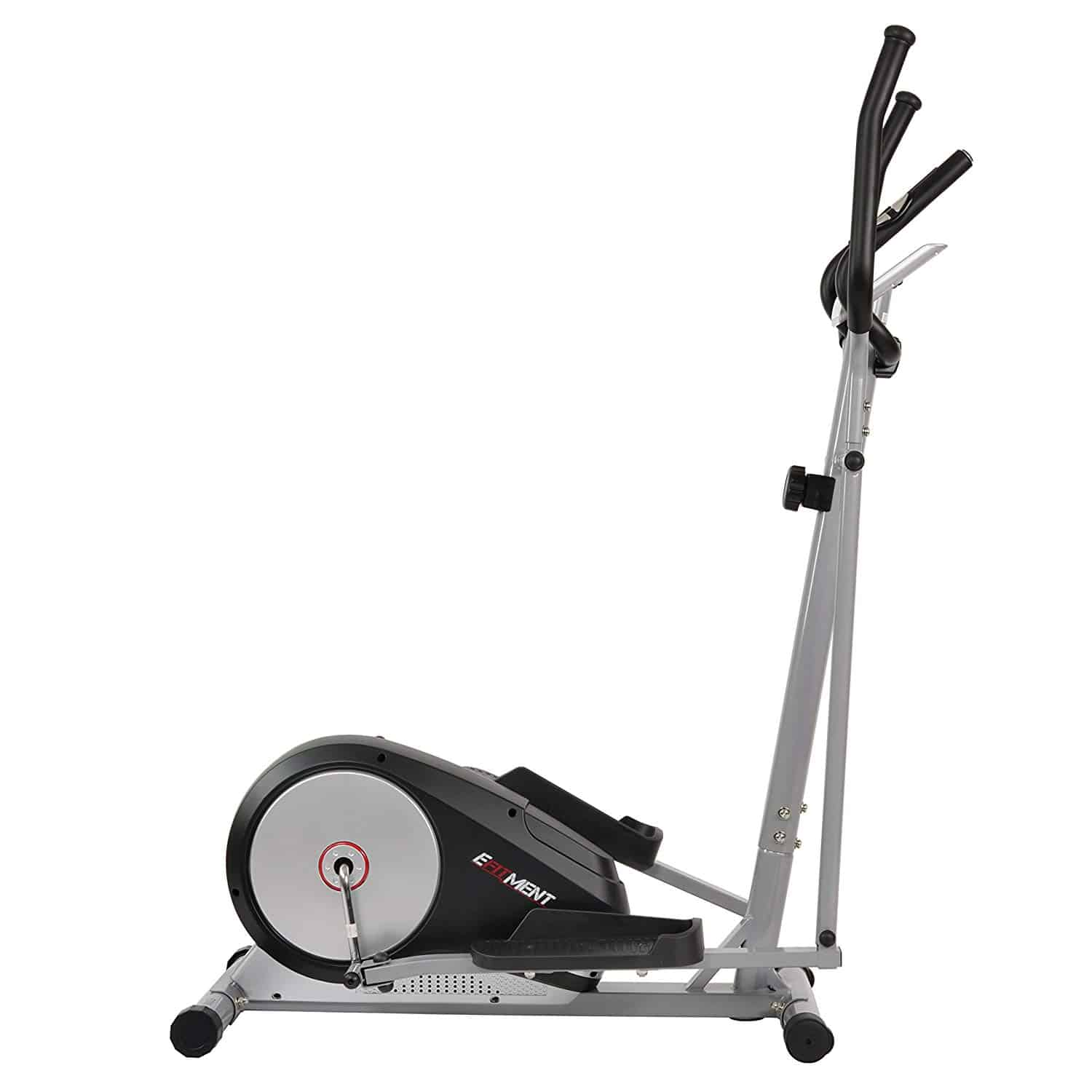EFITMENT Magnetic Elliptical Machine Trainer w/LCD Monitor and Pulse Rate Grips – E006