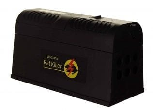 Electronic Mouse and Rat Trap Zapper with Alert Indicator Light