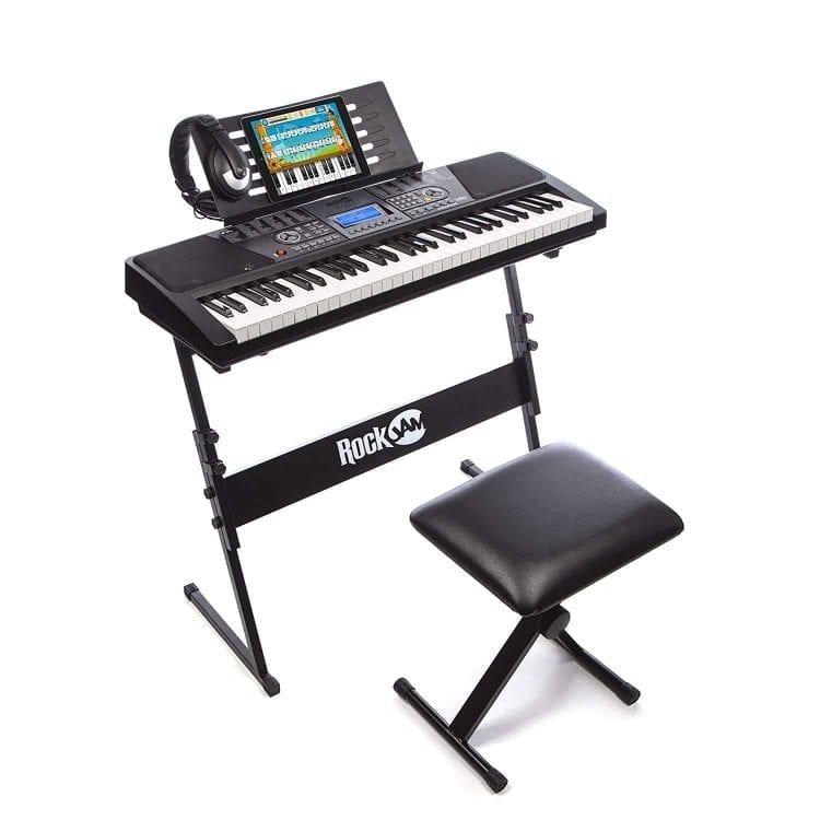 RockJam 61-Key Electronic Keyboard SuperKit