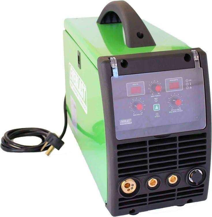Everlast PowerMIG 200 200amp MIG stick welder dual voltage 110v/220v