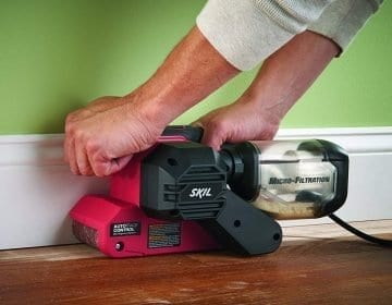 10 Worthy Belt Sander Reviews – Get The Job Done Right In 2020