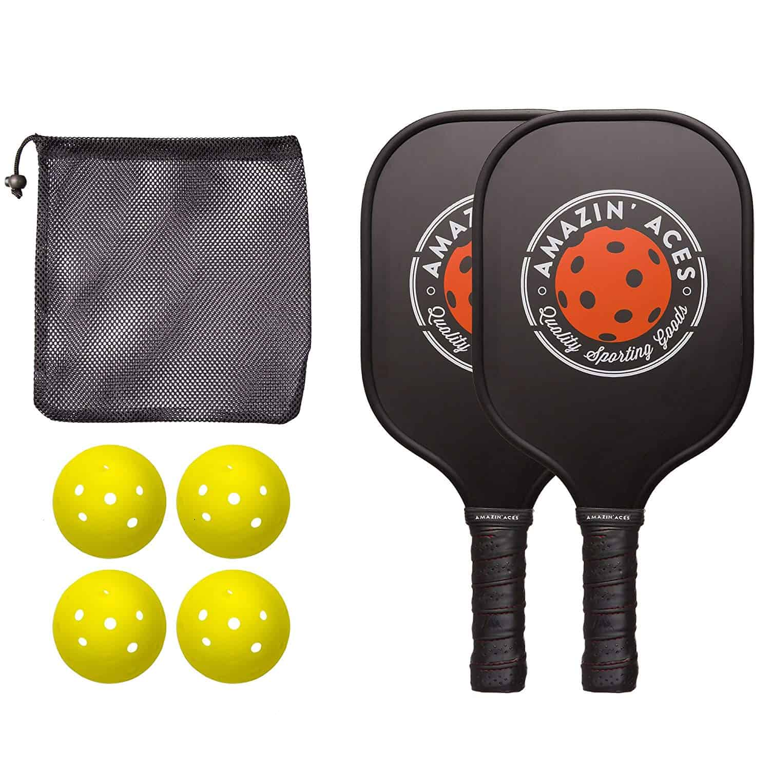 Amazin' Aces Pickleball Paddle Bundle Set
