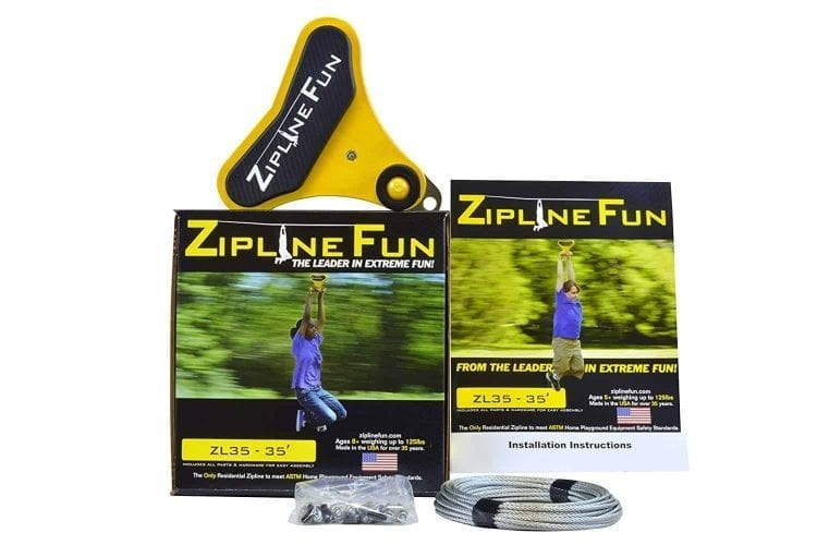 Adventure Parks Zip Line Fun