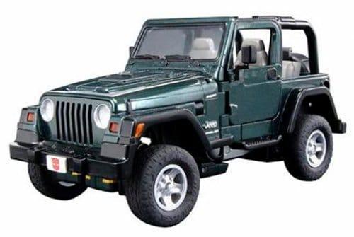 Hasbro Transformers Alternators – Jeep Wrangler