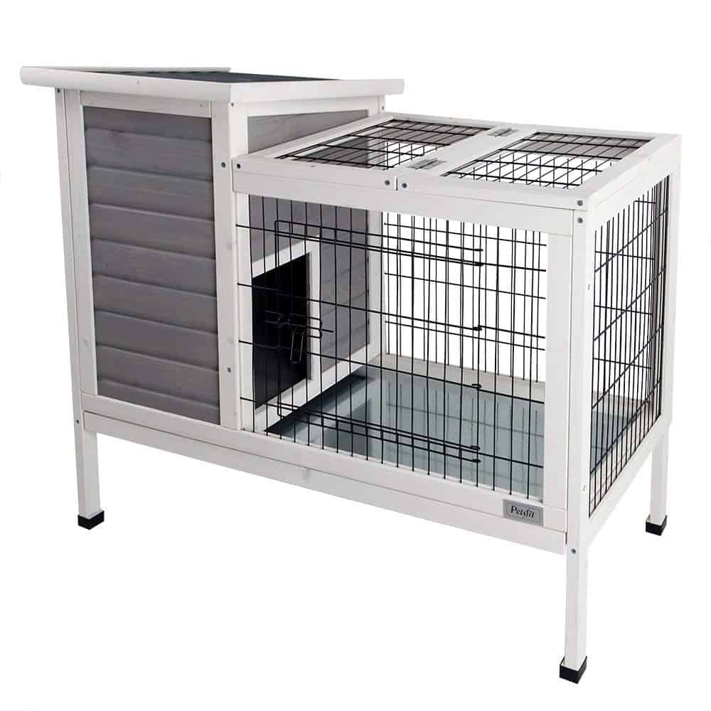 Petsfit Rabbit Hutch/Bunny Cage for Indoor Use