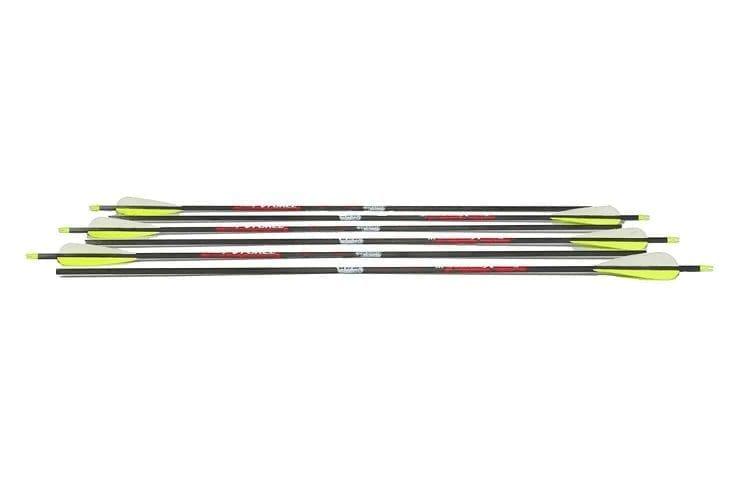 Sage Premium Recurve Carbon Arrows; 31.5-inch