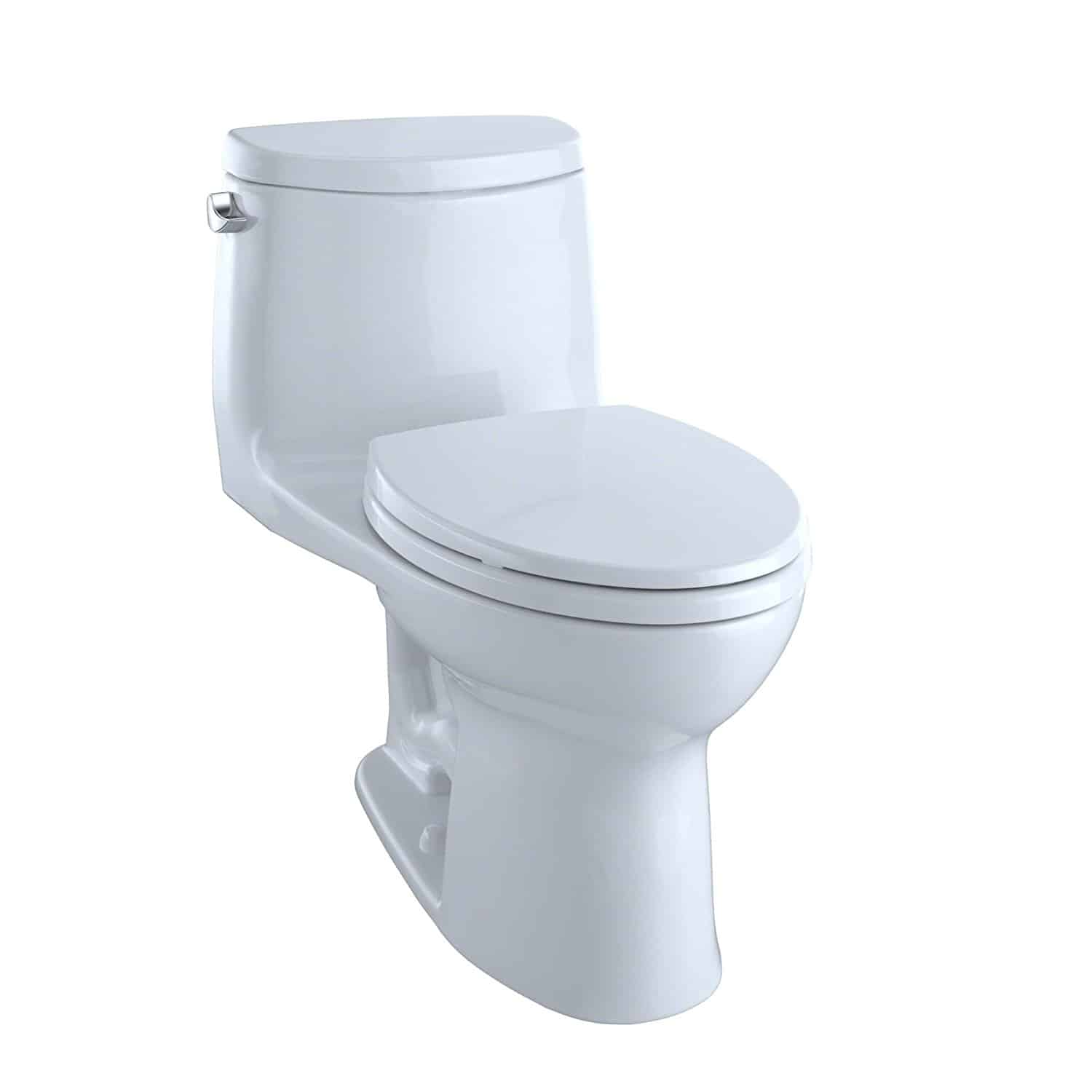TOTO Ultramax II Het Double Cyclone Elongated One Piece Toilet with Sanagloss