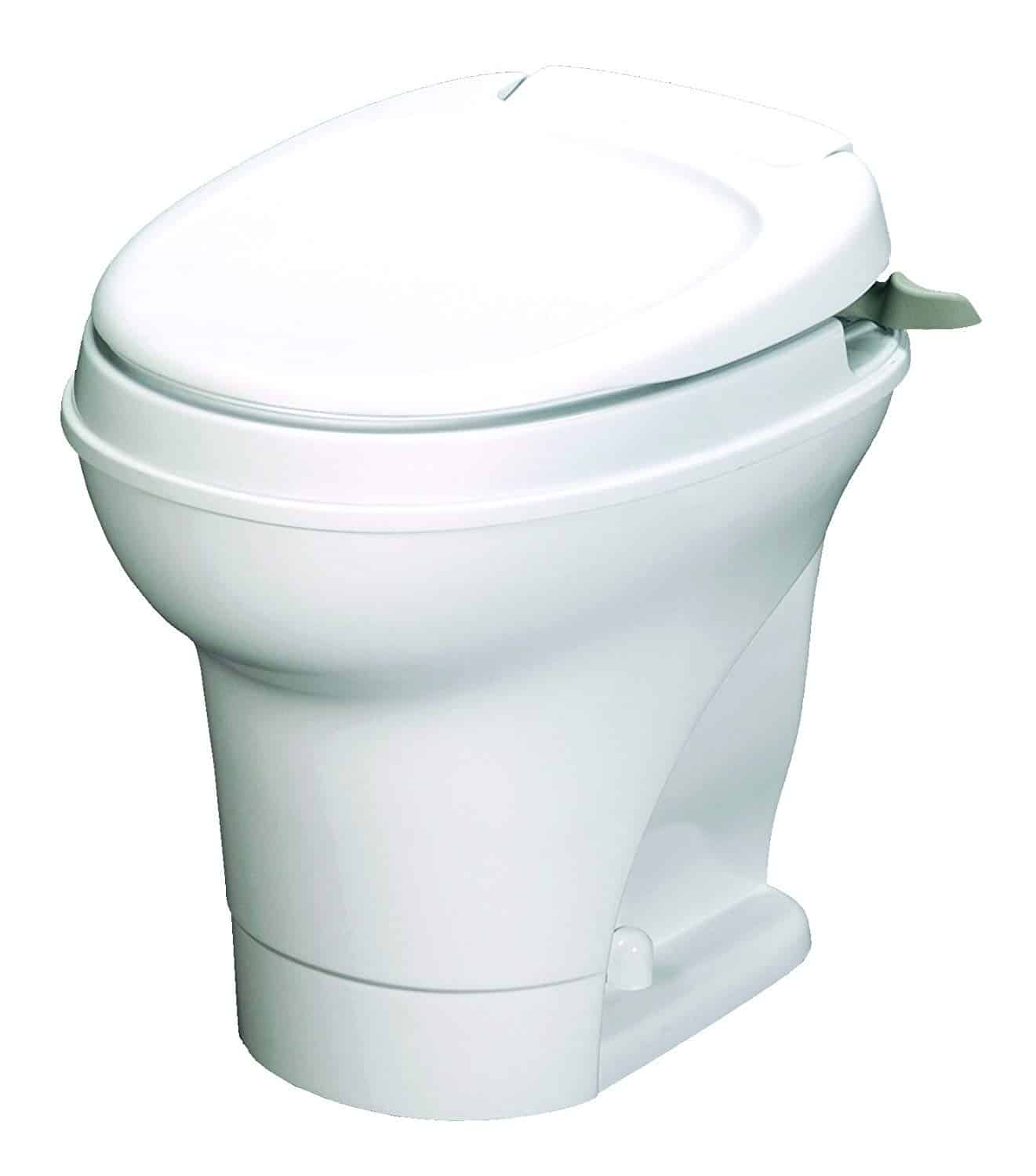 Thetford Aqua-Magic V RV Toilet Hand Flush, High Profile, White