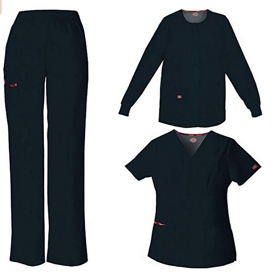 Dickies EDS Signature by Women's 3-Piece Scrub Set