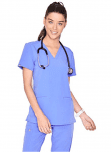 FIGS Casma Three-Pocket Scrub Top for Women