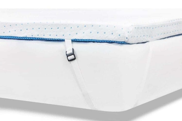ViscoSoft 3.5 lb. Density 3-Inch Gel Memory Foam Mattress Topper