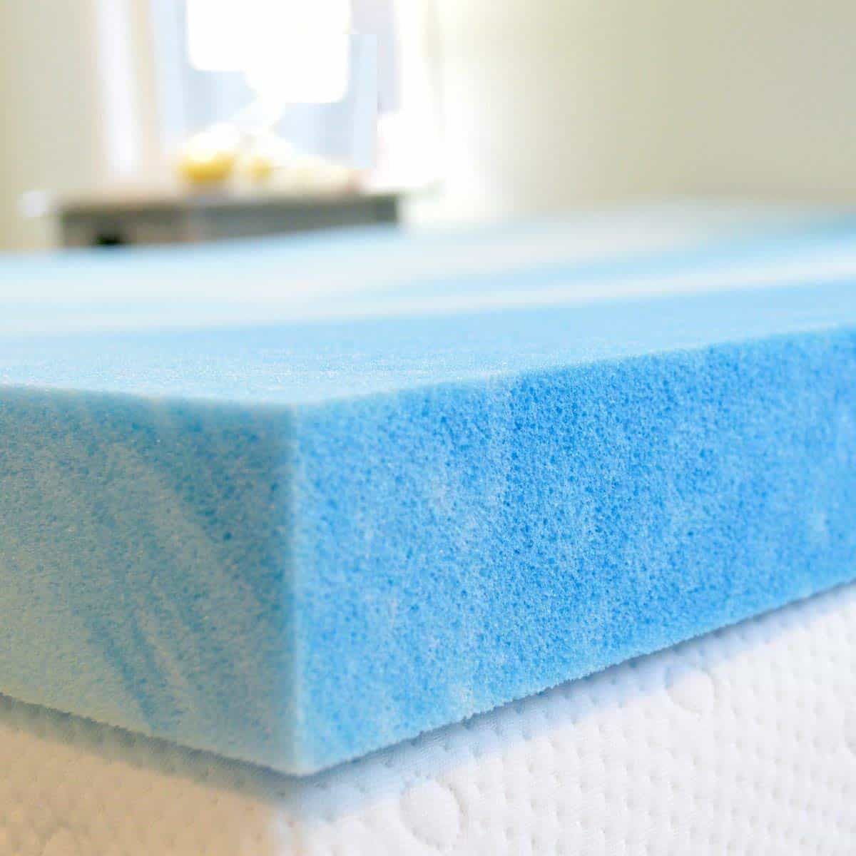 Advanced Sleep Solutions Gel Memory Foam Mattress Topper