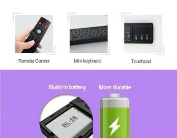 Wireless Remote, Keyboard & Mouse