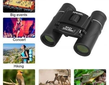 Foldable Waterproof Binoculars