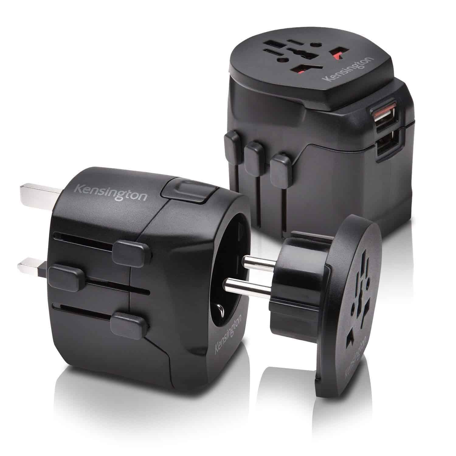 Kensington International Grounded 3 Prong Travel Adapter
