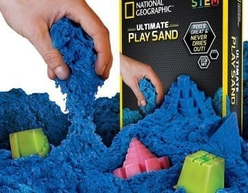National Geographic's Play Sand