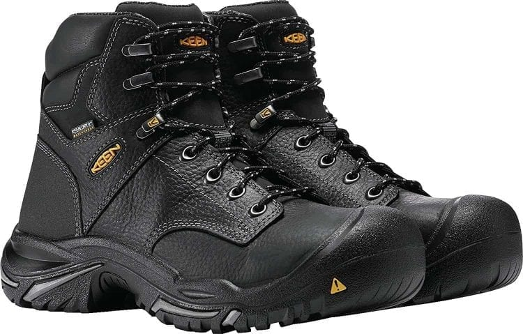 KEEN Utility – Mt Vernon 6″ Waterproof (Steel Toe), Men's Work Boot