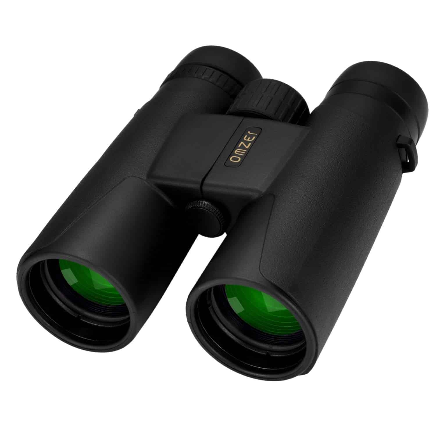 OMZER 10×42 High-powered Compact HD Binoculars