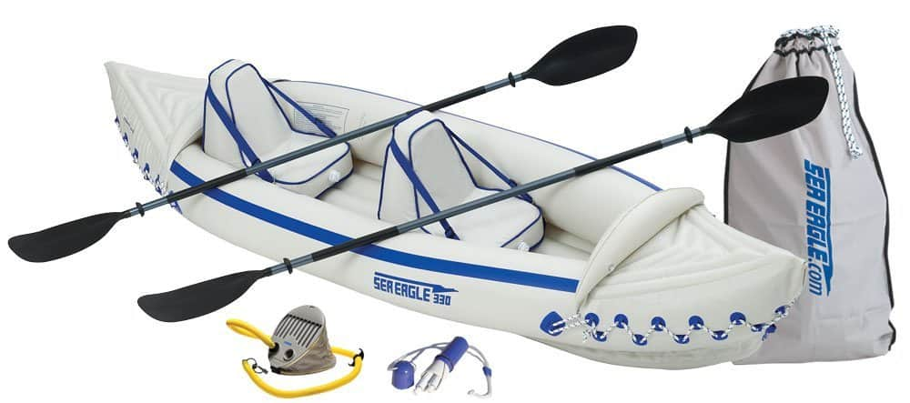Sea Eagle SE330 Inflatable Sport Kayak Pro Package