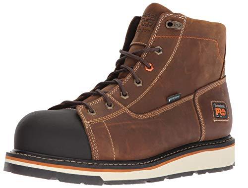 Timberland PRO Men's Gridworks Soft Toe Waterproof Industrial Boot