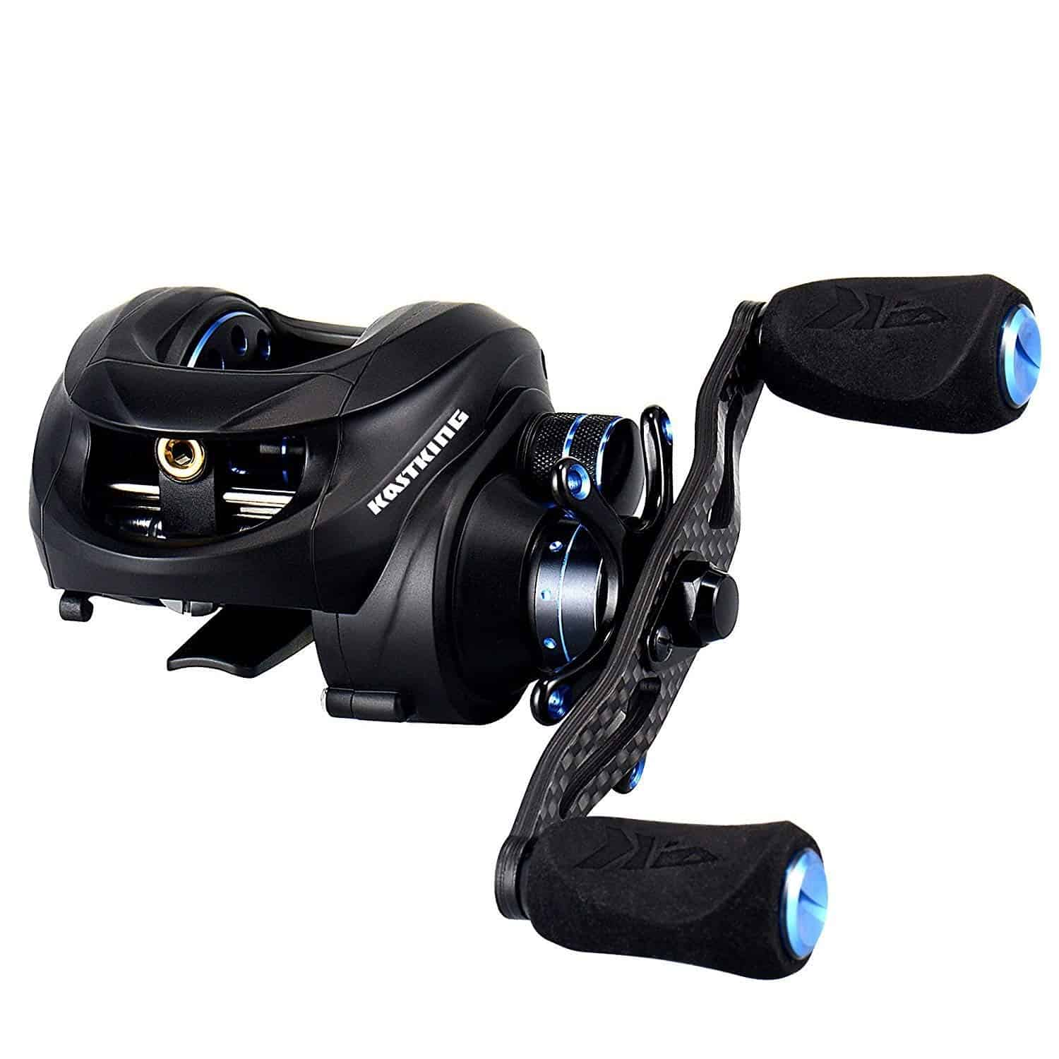 KastKing NEW Assassin Carbon Baitcasting Reel with Dual Brakes