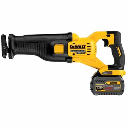DeWalt FLEXVOLT 60V MAX DCS388T2 Reciprocating Saw Kit