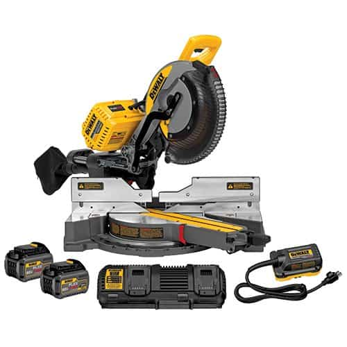 DeWalt 120V MAX Double Bevel Miter Saw Kit