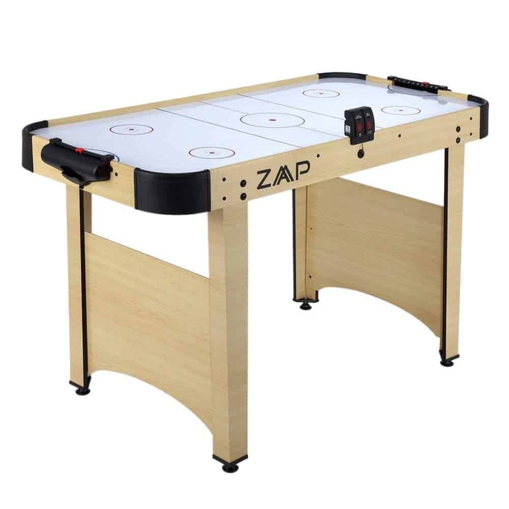 ZAAP Electric Ice Air Hockey Table with Electronic Scoring