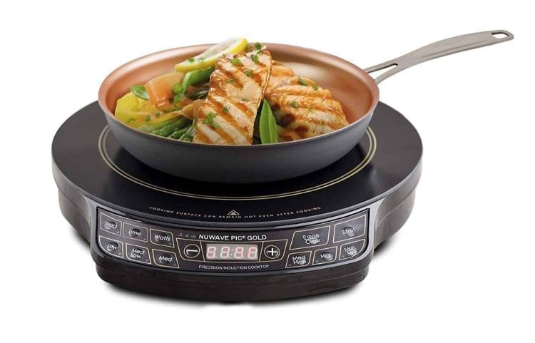 NuWave PIC Gold Precision Induction Cooktop with Pan