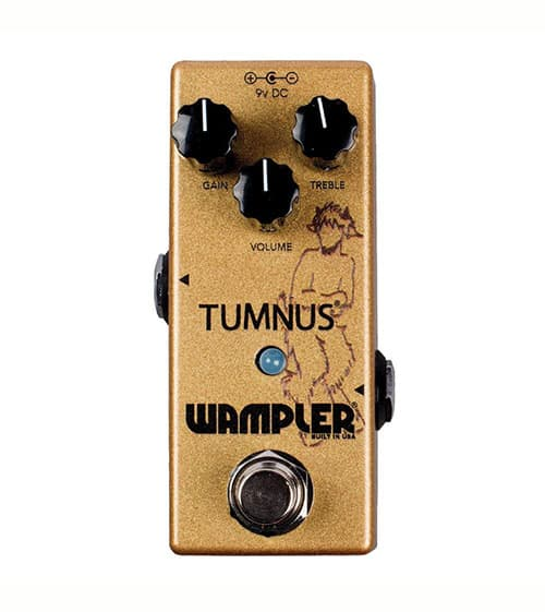 Wampler Pedals Tumnus V2 Overdrive/Boost Effects Pedal