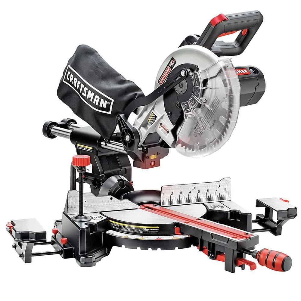 "Craftsman 10"" Sliding Compound Miter Saw"