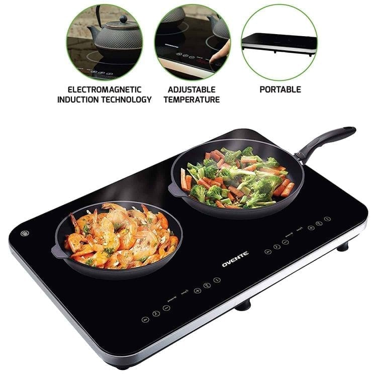Ovente Induction Dual Countertop Burner