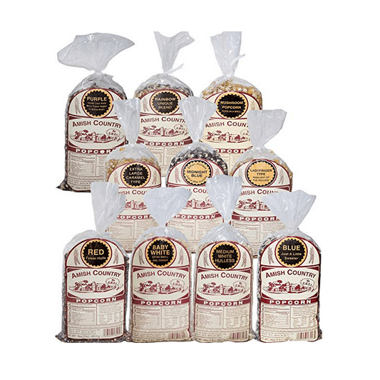 Amish County Popcorn Variety Bundle