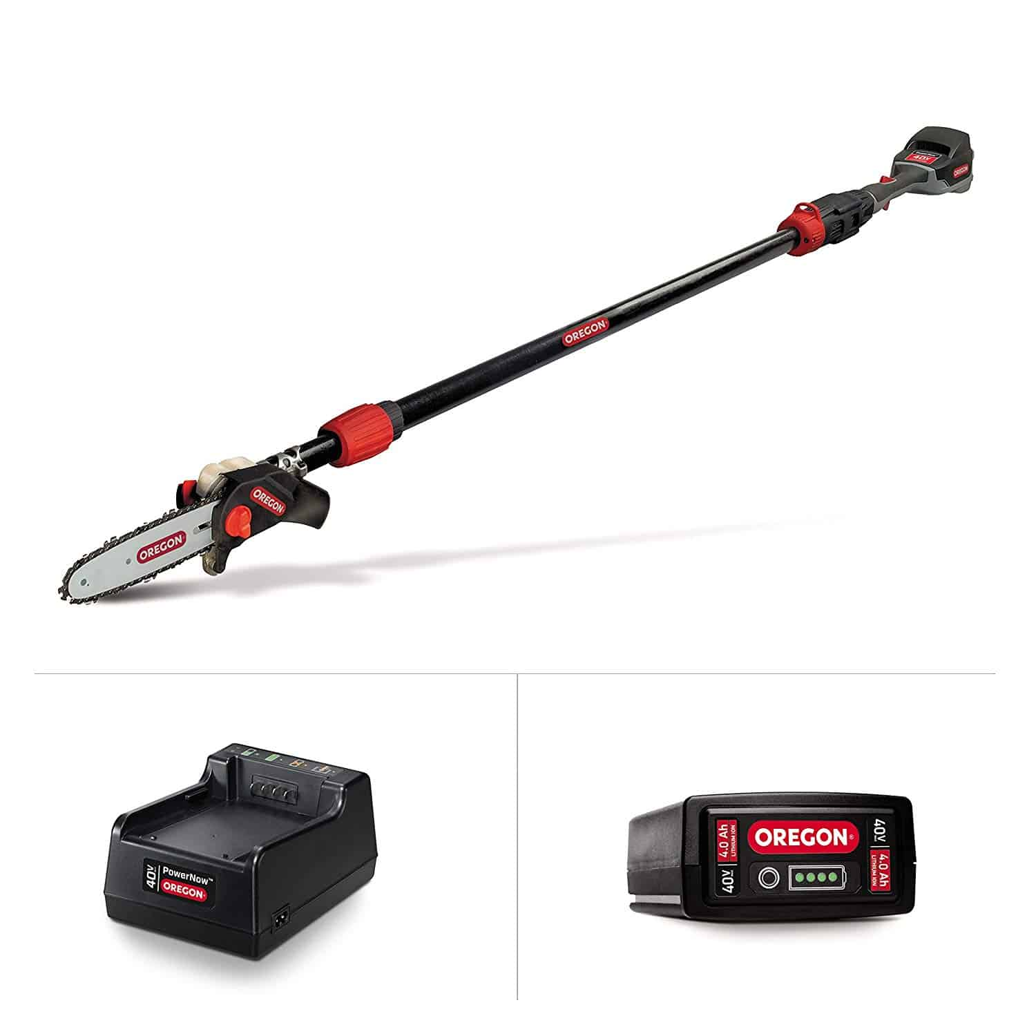 Oregon Cordless Pole Saw Kit with Battery and Charger