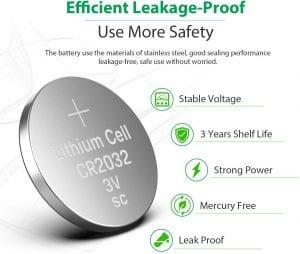 LICB CR2032 battery