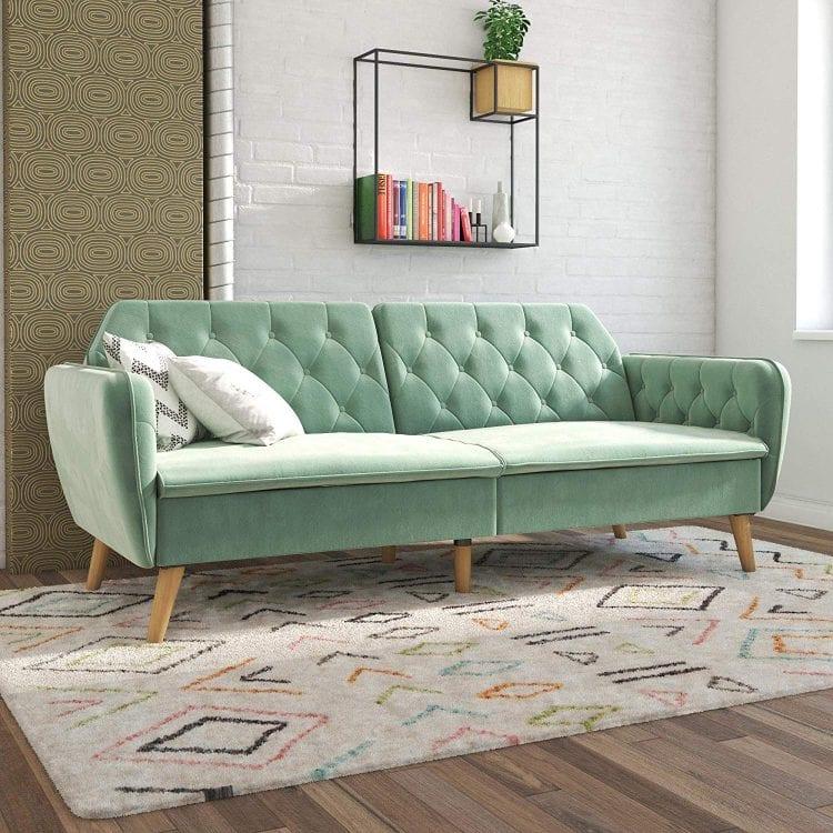 Novogratz Tallulah Memory Foam Sofa Bed